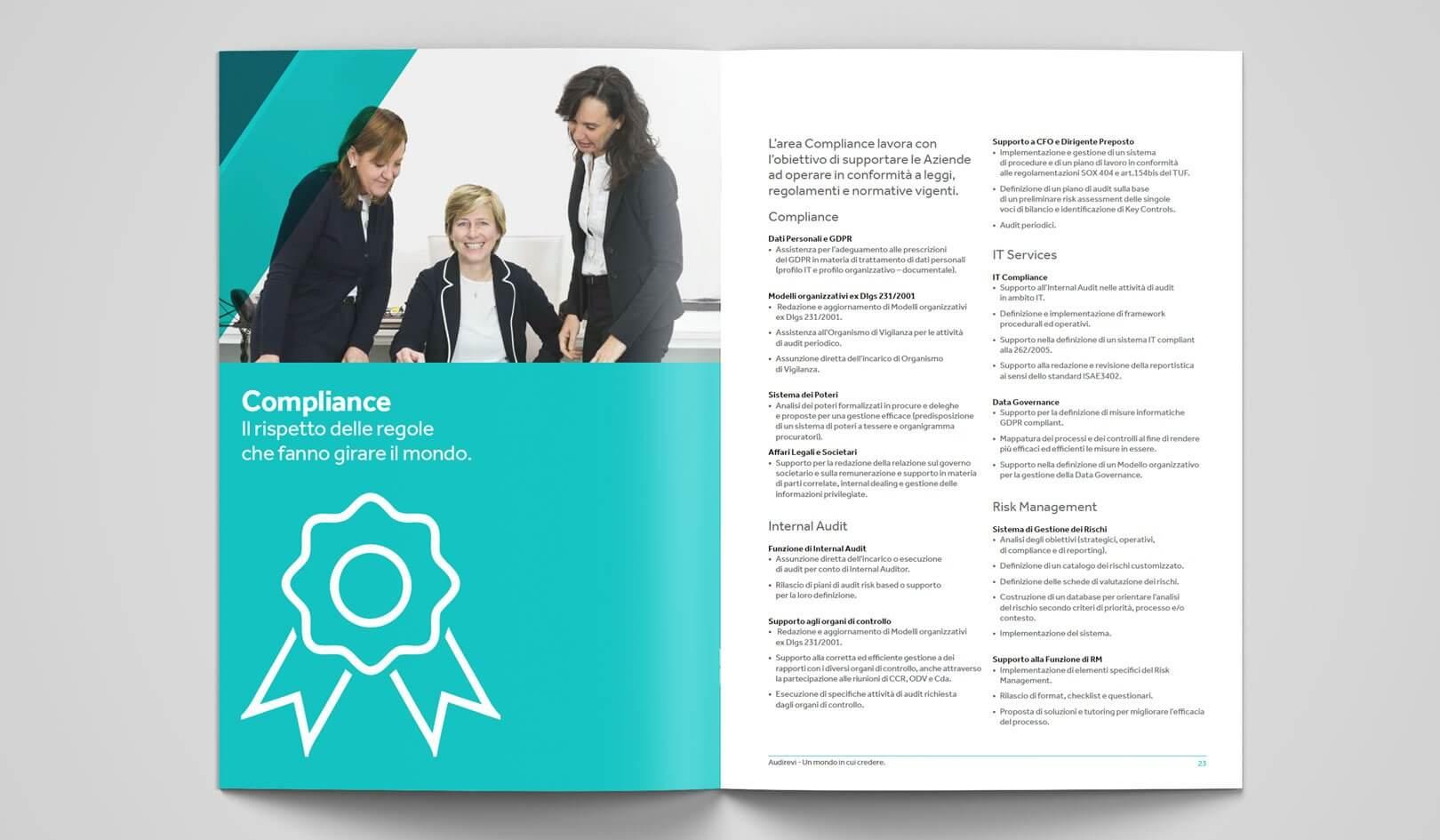 Brochure istituzionale Nexia Audirevi