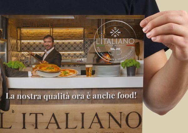 Comunicazione adv L'Italiano Food